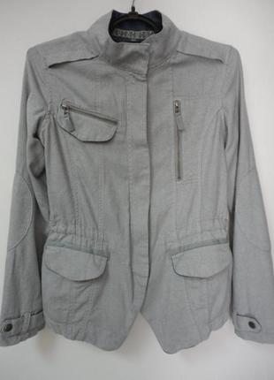 Ветровка, пиджак из натуральной ткани