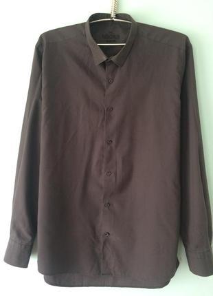 Рубашка мужская/xxl/mikpas.slim fit