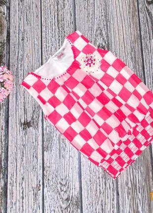 Фирменная шифоновая блуза для девочки 4-5 лет. 104-110 см