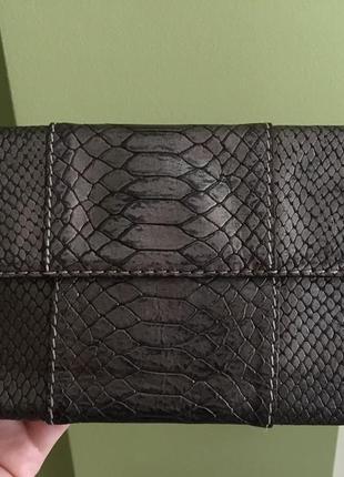 Клатч сумка сумочка кожаная оригинал крокодил ck
