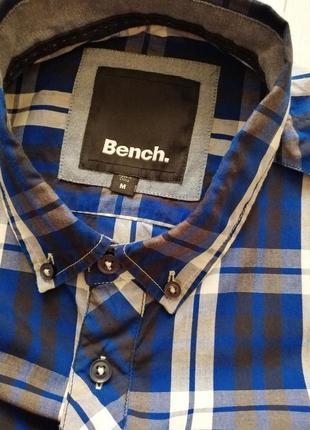 Мужская рубашка-тениска от bench.4 фото
