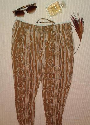 Отличные штапельные укороченные штаны от esmara,p.40