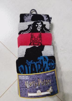 Мужские носки 5пар/упак, гарри поттер