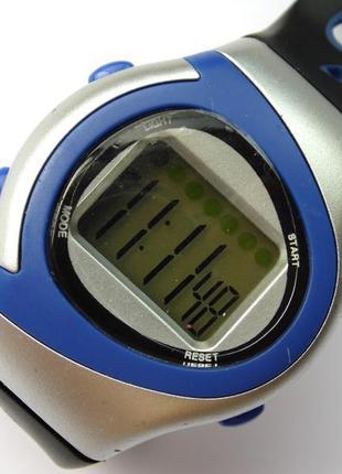 Новые спортивные часы унисекс секундомер будильник подсветка