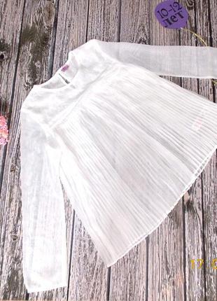 Нарядная шифоновая блуза f&f для девочки 10-11 лет,140-146 см