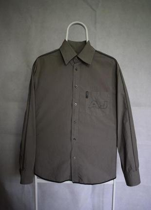Рубашка armani jeans италия