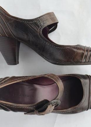 Удобные  туфли 5 th avenue uk 5 р. 38 р2 фото
