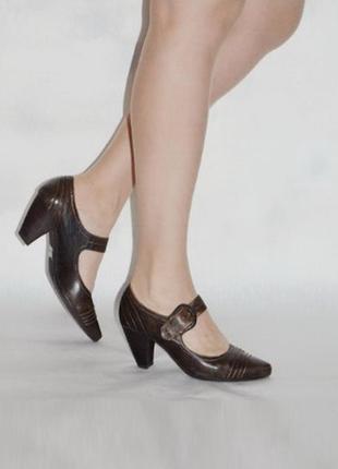 Удобные  туфли 5 th avenue uk 5 р. 38 р6 фото