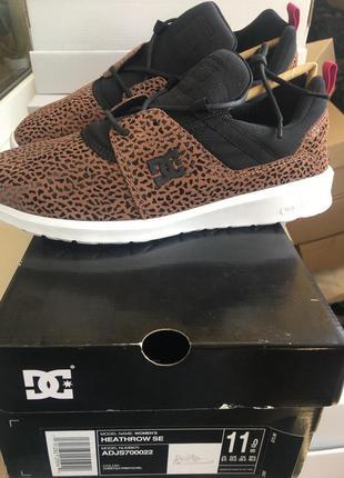 Кроссовки мужские  новые из натуральной замши бренд dc