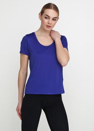 Синяя футболка crivit sports