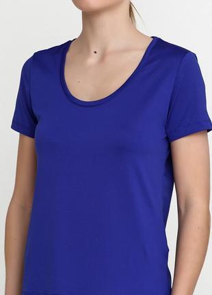 Синяя футболка crivit sports3 фото