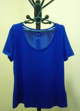 Синяя футболка crivit sports5 фото