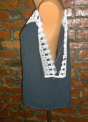 Блуза кофточка с вырезами на плечах river island3 фото