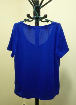 Синяя футболка crivit sports6 фото