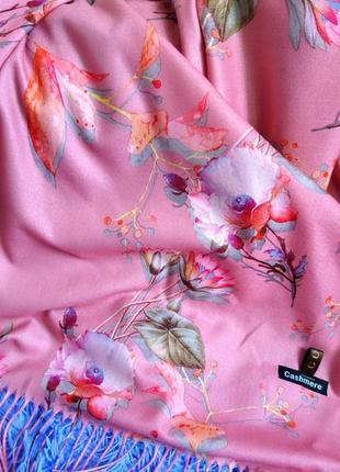 Шикарнейший кашемировый палантин шарф шаль