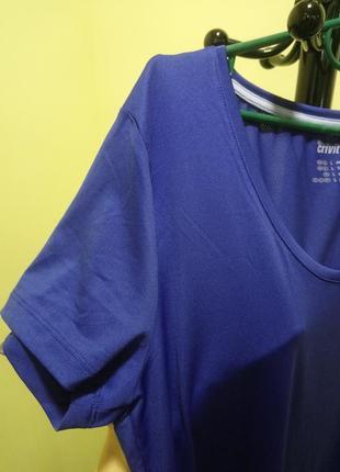 Синяя футболка crivit sports8 фото