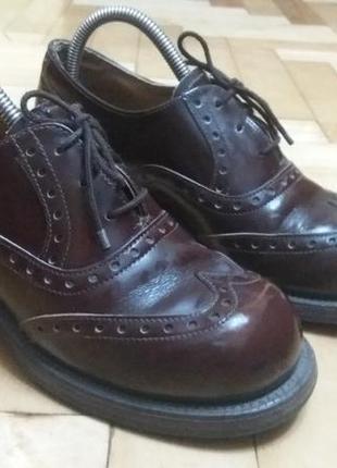 Кожаные ботинки,черевики от shellys london,оригинал✔