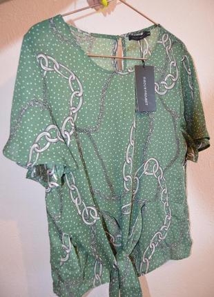 Оригинальная стильная блуза в цепи