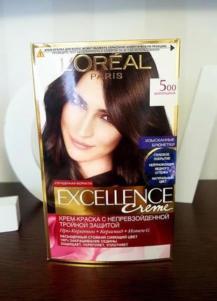 Краска для волос excellence 5.0