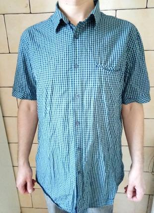 Рубашка мужская лето ostin размер 54 xxl