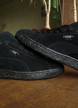 Мужские кроссовки puma suede classic + speckle