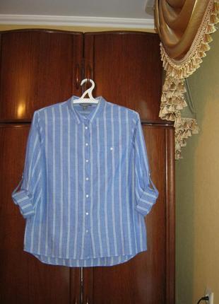 Базовая рубашка primark, 100% хлопок, размер 16/44