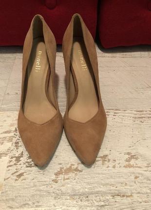 Туфлі із натуральної замші,від minelli3 фото
