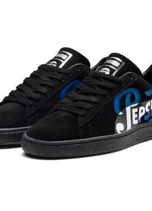 Эксклюзивные кроссовки puma suede classic x pepsi clean оригинал распродажа
