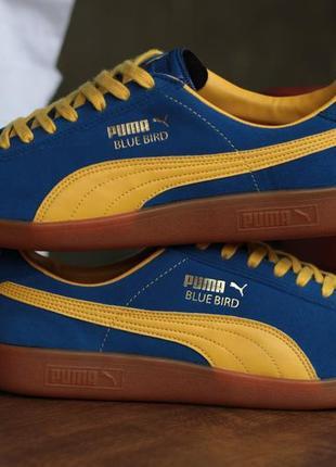 Новые мужские кроссовки puma bluebird