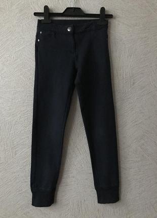 Ovs- классные модные, трикотажные штаны- 9-10 лет,сост.новых