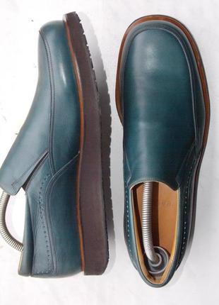 "Р.42 ""bally"" оригинал,италия туфли на платформе стелька 28.5 см"