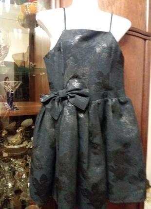Платье-george- с пышной юбкой и бантом -- на 12 13лет