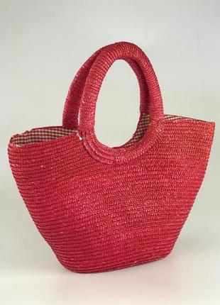 Плетенная сумка-корзина стильная изюминка для лета  as1920103 laura ashley