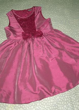 Очень красивое платье 5-6 лет1 фото