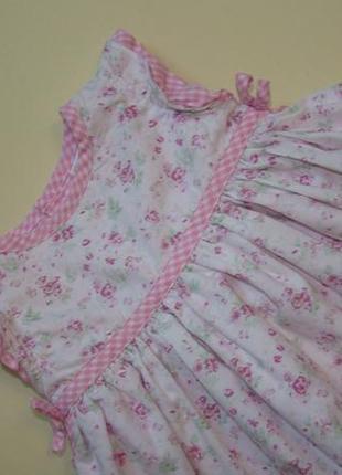 Пышное нарядное платье baby mac 3-9 мес3 фото