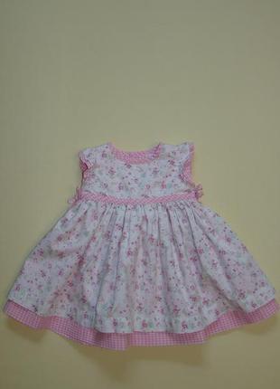 Пышное нарядное платье baby mac 3-9 мес