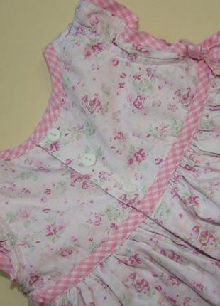Пышное нарядное платье baby mac 3-9 мес8 фото