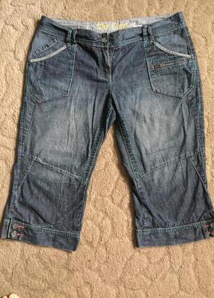 Бриджи жен джинсовые 3xl (54)
