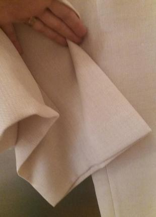 Нежно-бежевые брюки -plus-size--от-gaticceli--54р3 фото