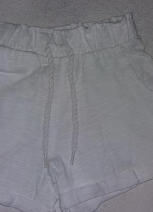 Літні шорти з легкого котону