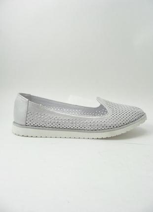 Балетки туфли  натуральная кожа / кожаные