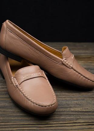Жіночі макасіни туфлі ecco оригінал р-382 фото