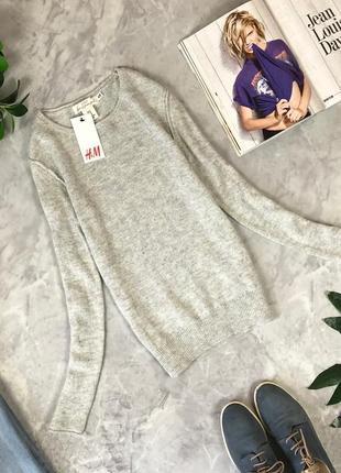 Стильный базовый свитер тонкой вязки sh1920179 h&m