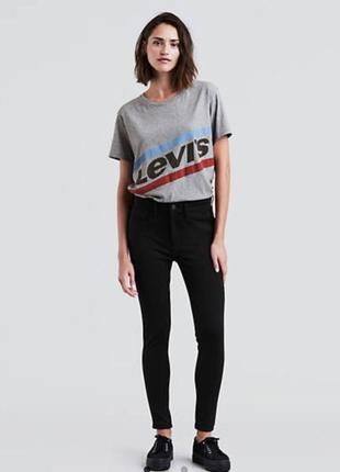 Брюки levis 720 high rise super skinny ponte leggings