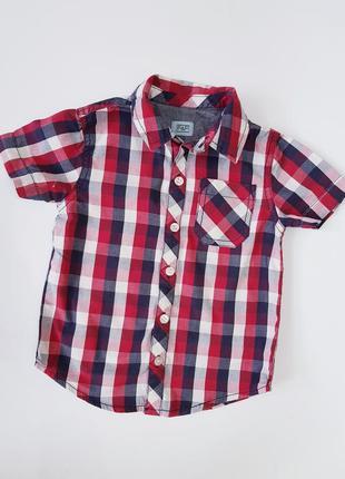 Cтильная рубашка / шведка в клетку
