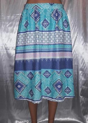 Красивая юбка а-силуэта