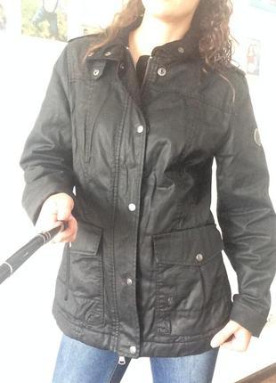 Стильная качественная куртка marc o polo с вельветовым воротником