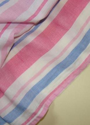 Пышное легкое полосатое платье yd by primark  3-4 года 104 см5 фото