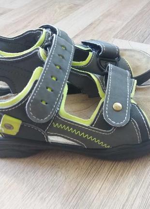 18,5см-28р ricosta сандалии на мальчика арт.3223
