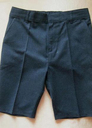 Стильные школьные шорты f&f - р. 134 - 140
